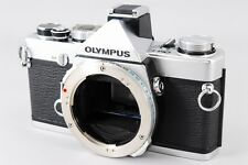 【AB- Excellent】 OLYMPUS OM-1n Silver 35mm SLR Film Camera Body From JAPAN #1838