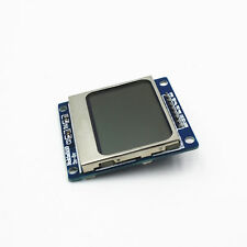 Blue Backlight Backlit Nokia 5110 LCD Module Display Screen with Adapter PCB