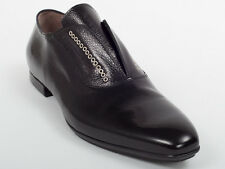New  Cesare Paciotti  Black Leather Shoes UK 6 US 7 Retail $ 585