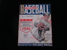 1946 TSN Official Baseball Guide-Hal Newhouser cover