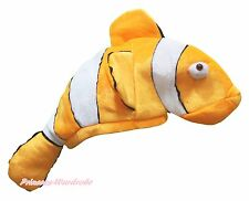 Halloween New Gold Nemo Fish Costume Party Hat Mask H04