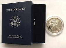 2003 W United States American Silver Eagle Proof Silver Dollar in Box No COA