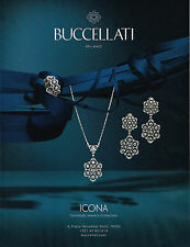 PUBLICITE ADVERTISING 114  2014   BUCCELLATI   joaillier  ICONA