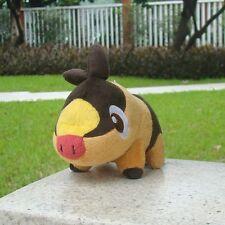 "Pokemon Go Plush Toy Tepig 4"" Nintendo Game Cuddly Soft Stuffed Animal Rare Doll"