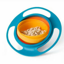 Universal 360 Rotate Spill-Proof Bowl Dishes Kid Baby Toy Fashion