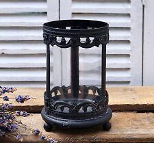 Teelichthalter Windlicht Kerzenglas Deko Landhaus Nostalgie Shabby French Retro