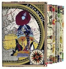 Christian Lacroix CONTINENTS Boxed Notebook Set 6 Notebooks per Set 31101