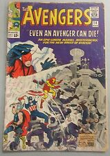 Avengers #14 (1963) Silver Age Stan Lee Jack Kirby Captain America Marvel Comics