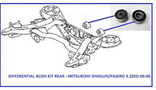 fits MITSUBISHI SHOGUN/PAJERO  3.2 DI-D (2000-2006) REAR DIFFERENTIAL BUSH KIT