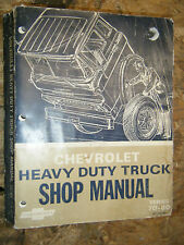 1967 CHEVROLET HEAVY DUTY TRUCK SERIES 70-80 FACTORY SERVICE MANUAL SHOP REPAIR