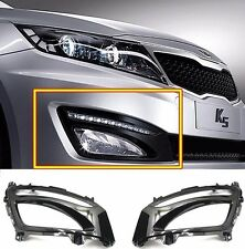OEM Daytime Running Lights Fog Lamp Cover 2EA 1Set for KIA Optima K5 2011-2013