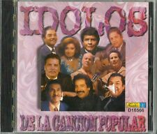 Idolos De La Cancion Popular Latin Music CD
