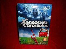 XENOBLADE CHRONICLES LIMITED ED. NUOVO WII PAL MULTILANGUAGE SPEDIZIONE GRATUITA