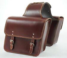 LeatherPanniers Saddle bags Vespa Sprint/Primavera/PX/ET2/ET4/LX/LXV/GT/GTS/GTV