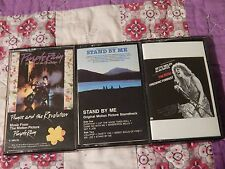 FILM SOUNDTRACK CASSETTE (LOT of 3) Purple Rain + Stand By Me + The Rose (MUSIC)