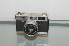 Canon Camera Canonet  QL17  40mm Lens 1:17