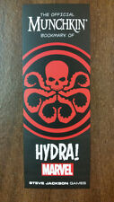 Munchkin Marvel Promo Bookmark of HYDRA! Steve Jackson Games USAopoly