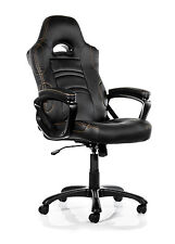 Arozzi Enzo Gaming Chair - Black E Sports ENZO-BK *Free Next Day Delivery*