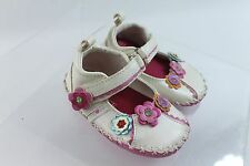 CHILDRENS PLACE Infant Girls Flower Shoes Sz 6-12M New w/Tag