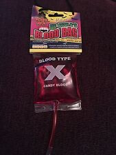 Halloween Candy Blood Bag, Dr Acula, Gothic, Horror, Sour Candy, Vegan Friendly
