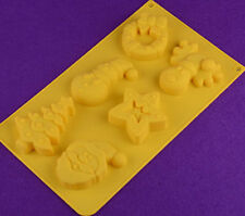 Christmas Tree Cake Mold Soap Mold Silicone Mould For Candy Chocolate Bakeware