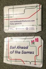 Get Ahead Of The Games Olympic 2012 Ticket Wallet x2