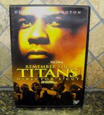 Denzel Double! - Remember the Titans/ The Hurricane~  Widescreen DVDS
