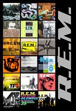 """R.E.M. album discography magnet (4.5"""" x 3.5"""")"""