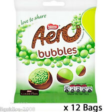 AERO BUBBLES MINT CHOCOLATE CASE OF 12 SWEETS WHOLESALE DISCOUNT FAVOURS TREATS