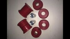 BMW E36 Rear Subframe Mounts. DRIFT & TRACK use. 95 Shore A - RED Poly