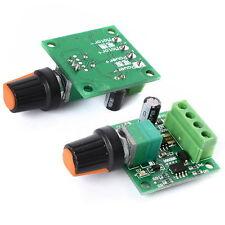 New DC 1.8V 3V 5V 6V 12V 2A Low Voltage Motor Speed Controller PWM 1803B - UK
