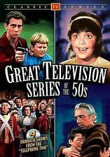 """Great Television Series of the 50s: 4 Dramatic Shows from the """"Telephone..."""