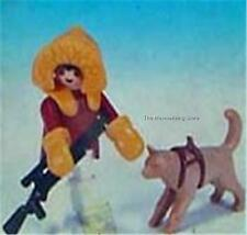 Playmobil Vintage 3910 ALASKAN ESKIMO HUNTER & HUSKY DOG - Super Rare!