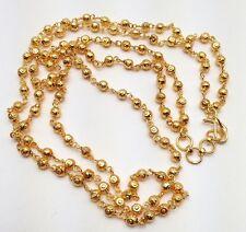 INDIAN Asiatico gioielli da sposa abito etnico oro placcato doppio collana mala