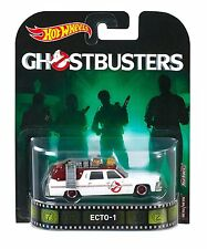 HOT WHEELS Retrò SERIE 2016 GHOSTBUSTERS ECTO - 1 1:64 SCALA DIECAST