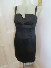 Amanda Wakeley black cocktail dress sz   UK 12-14 small fit