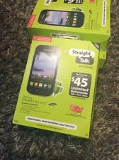 Straight Talk Wireless Samsung Prepaid Galaxy Ace Style Smartphone