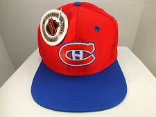 Montreal Canadiens HABS 90's  Vintage Hat Cap NHL ADULT New By LOGO 7
