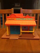 VINTAGE 1982 Fisher Price Western Town