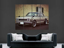 NISSAN GTR 2000 CLASSIC POSTER EVOLUTION SKYLINE  FAST CAR  PRINT LARGE HUGE