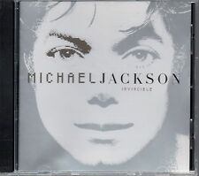MICHAEL JACKSON - Invincible - CD Album *Silver Cover*