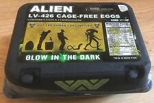NECA ALIENS GLOW IN THE DARK XENOMORPH ALIEN EGG SET in CARTON with FACEGUGGERS