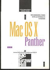 (Informatica) MAC OS X PANTHER Per conoscere a fondo le potenzialità di Panther