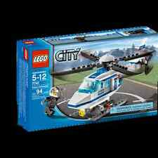 7741 POLICE HELICOPTER city town lego NEW sealed legos set RETIRED hellicopter