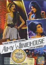 Amy Winehouse : Live in London - I told you I was trouble (DVD)