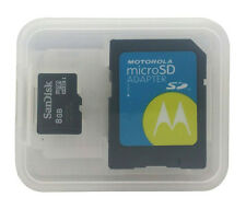 Motorola Universal SD sand disk Micro sd card w/ SDCard Adapter for Handheld 8gb
