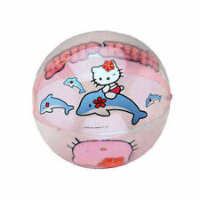 "Inflatable Beach Ball 12"" Sanrio Hello Kitty & Dolphin Age 3+ NIP"