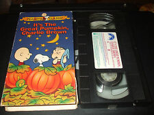 Its the Great Pumpkin, Charlie Brown (VHS, 1994, Slipsleeve)