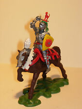 54mm Britains Swoppet Medieval Agincourt Mounted Knight