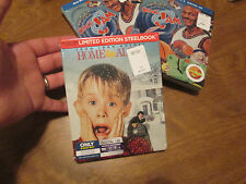 Home Alone Blu-ray,DVD,Digital HD SET 2 DISC STEELBOOK , Bestbuy Exclusive RARE